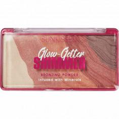 Pudra Bronzanta Iluminatoare SUNKISSED Glow Getter Shimmer 20 g