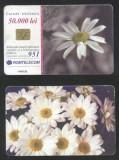 Romania 2001 Telephone card Flowers Rom 115a CT.073