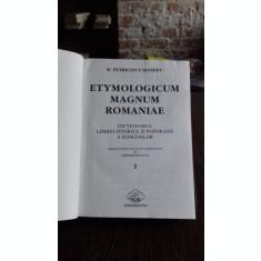 Etymologicum magnum Romaniae Dictionarul limbei istorice si poporane a romanilor vol.1 - B. Petriceicu-Hasdeu