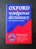SALLY WEHMEIER - OXFORD WORDPOWER DICTIONARY