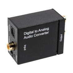Audio converter OEM digital to audio TOSLINK / 2xRCA