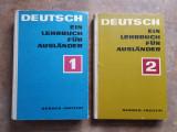 CURS DE LIMBA GERMANA - DEUTSCH EIN LEHRBUCH FUR AUSLANDER 2 vol. 1970