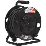 Yato - YT-81053 - Prelungitor electric, 30 m, 4 prize, tambur