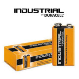 Baterii alcaline Duracell Industrial 9V,6LR6 MN1604 10baterii/cutie