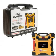 Aproape nou: Acumulator portabil PNI JS6400A pentru pornire motor pe 24V de urgenta