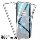 Husa CRYSTAL protectie 360° fata + spate pt Huawei Nova 5T / Honor 20, Alt model telefon Huawei, Silicon