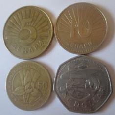 Lot 4 monede straine colectie,vedeti imaginile