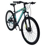 Bicicleta Mountain Bike, roti 29 inch, cadru aluminiu 17 inch, 24 viteze, schimbator Shimano, frane pe disc hidraulice, Phoenix