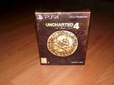 Joc PS4 - Uncharted 4 Special Collector's Edition , nou , de colectie