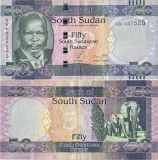 2011 ( 19 VII ) , 50 south sudanese pounds ( P-9a ) - Sudanul de Sud