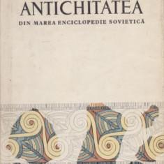 Antichitatea din Marea Enciclopedie Sovietica - R. Bordenache