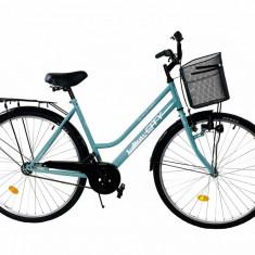 Bicicleta Oras Supra City Turcoaz