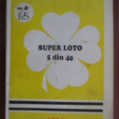 Super loto 5 din 40