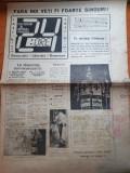 Ziarul 24 ore din 16 ianuarie 1990-anul 1,nr. 1 al ziarului -ziar din iasi