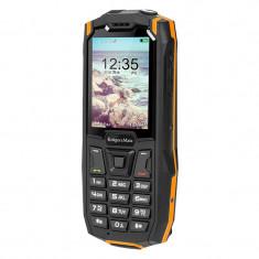 Telefon mobil Rugged Iron 2S Kruger & Matz, Dual-SIM, 3G, micro USB, rezistent la praf si apa