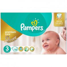 Scutece Pampers Premium Care 3 Mega Box, 120 bucati