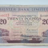 20 Pounds 1996 Irlanda, lire , Ulster Bank Limited