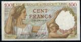 Franta 1941(4-12) - 100 francs, XF