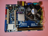 placa de baza PC - ASROCK G31M-VS cu 2 gb DDR2 si procesor inTEL 2,4
