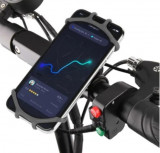 Suport telefon mobil universal din silicon pentru bicicleta/moto
