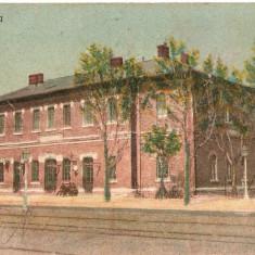 Carte poștală din Alexandria, gara