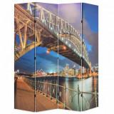 Paravan de cameră pliabil, 160 x 170 cm, Sydney Harbour Bridge, vidaXL