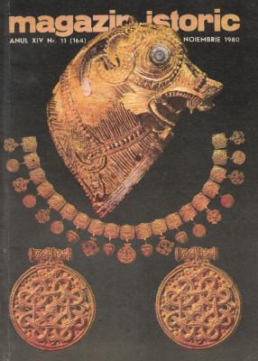 Magazin Istoric - anul 14 - nr. 11 (164) - noiembrie 1980 (C194) foto
