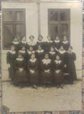 Eleve Scoala de Fete, inceput secol XX// fotografie