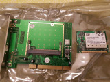 Mikrotik Router BOARD R52 802.11a b g dual band miniPCI card, 1