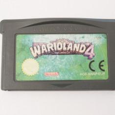 Joc Nintendo Gameboy Advance GBA - Warioland 4