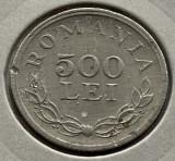 500 Lei 1946 Aluminiu, Romania, matrita crapata/LACRIMA/eroare batere