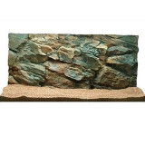 Decor 3D acvariu 80x40 cm - ROCK
