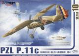 1:48 PZL P-11c ROMANIAN AIR FORCE 1:48