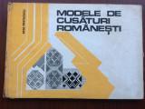 modele de cusaturi romanesti ana pintilescu editura tehnica 1977 RSR planse