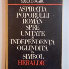 Aspiratia poporului roman spre unitate si independenta oglindita in simbol