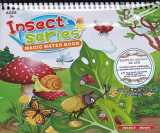 Insect series. Magic Water Book. Carte de colorat cu apa |