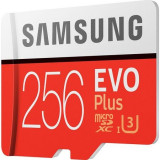 Card de memorie Samsung Micro-SDXC EVO Plus 256GB Class 10, UHS-I U3, Micro SD, 128 GB