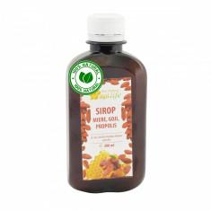 Sirop apiterapeutic cu miere, goji si propolis - ApiLife - 200ml