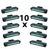 Set 10 tonere compatibile vrac MLT-1042S Black, Samsung