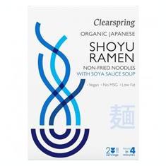 Paste din Grau cu Supa cu Sos de Soia Bio 210 grame Clearspring Cod: 5021554001287