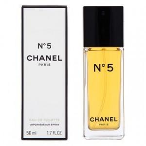 Chanel No.5 eau de Toilette pentru femei 50 ml