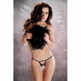 Bikini cu papion Passion, Negru