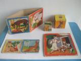 LOT DE 5 PARTI DE JOCURI ROMANESTI ANII 1960