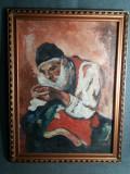 Tablou vechi - Ulei pe carton - Semnat Wenstein Iasi(113)