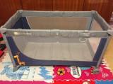 Patut pliabil / tarc de joaca KinderKraft + Saltea bonus