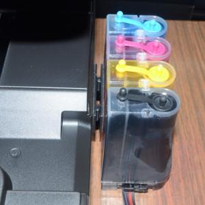 Dispozitiv prindere tancuri sistem CISS la imprimanta