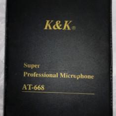 Microfon spy portabil (emitator + receptor) K&K AT-668