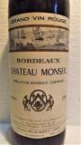 B 12- VIN BORDEAUX, CHATEAU MONSEIL, ABC, recoltare 1968 cl 73 gr 12