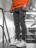 Cumpara ieftin Pantaloni de trening bărbați gri Bolf JX8991