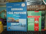 GERMANA FARA PROFESOR ( FARA CD ) + GHID PRACTIC ROMAN-GERMAN , 2005/2006